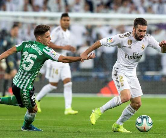 Dani Carvajal não está na sua melhor fase. EFE/Rodrigo Jiménez