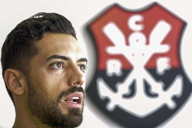 Flamengo diz adeus a Pablo Marí. EFE/Antonio Lacerda