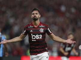 Clubes não entraram em acordo sobre o formato da operação por Pablo Marí. EFE/MARCELO SAYÃO