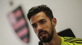 Pablo Marí se mostró ilusionado por la final de la Libertadores. EFE