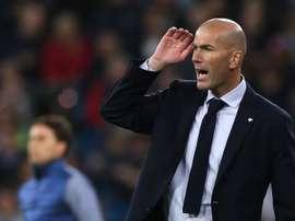 Os sete pilares de Zinedine Zidane. EFE/Javier Lizón