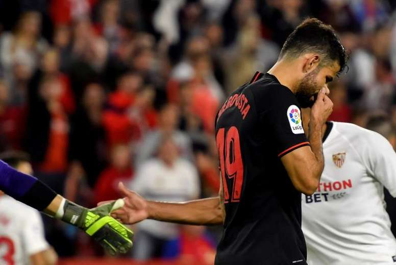 Diego Costa atraviesa una nefasta racha anotadora. EFE