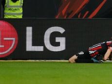 David Abraham hizo uno de los cinco goles del Eintracht al Bayern. EFE/EPA