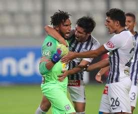 San Martín cerró con triunfo una gran jornada para Alianza Lima. EFE/Ernesto Arias/Archivo