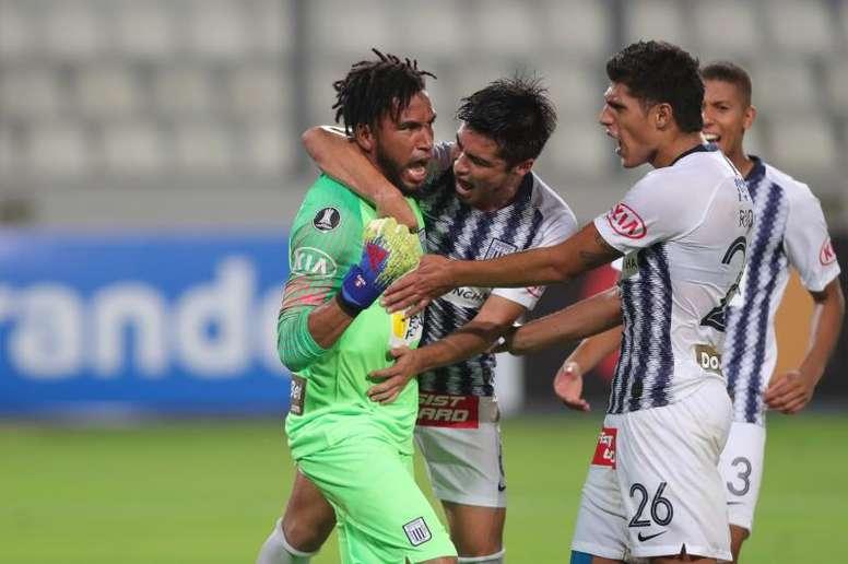 ¡Alianza Lima pidió que se declare nula la ida de la final! EFE/Ernesto Arias/Archivo