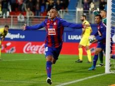 Orellana relanza al Eibar con su fútbol. EFE