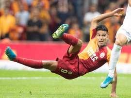 Radamel Falcao no estará en el Bernabéu. EFE/EPA/Archivo