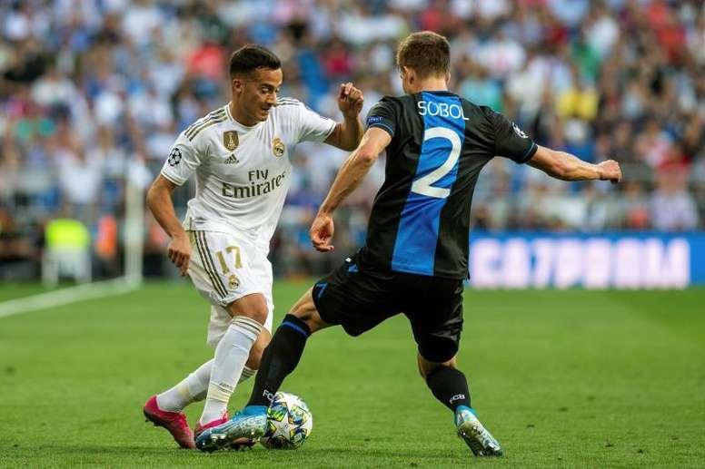 Lucas Vázquez promete que pelearán por el título de Liga. EFE