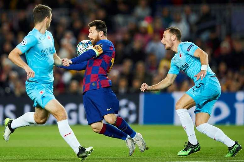 Outro empate no Camp Nou. EFE/Alejandro García