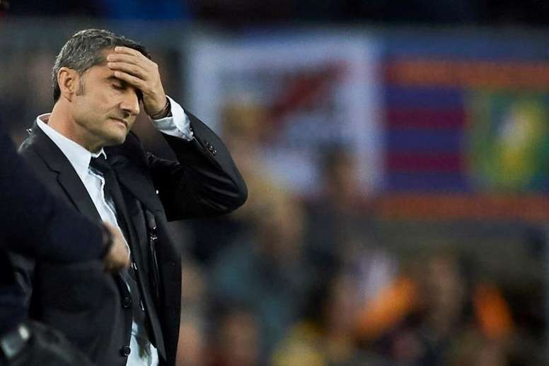 Replacements are being talked about to take over at Barca from Valverde. EFE
