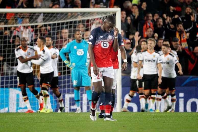 Boubakary Soumaré, en el radar del United. EFE