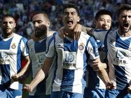 Tras el 0-1 a favor del Espanyol en la ida. EFE