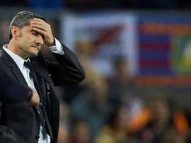 As cinco tarefas desta semana para Valverde no Barcelona. EFE/Alejandro García