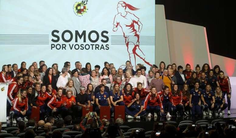 El fútbol femenino crece sin parar en Valencia. EFE/ Ballesteros