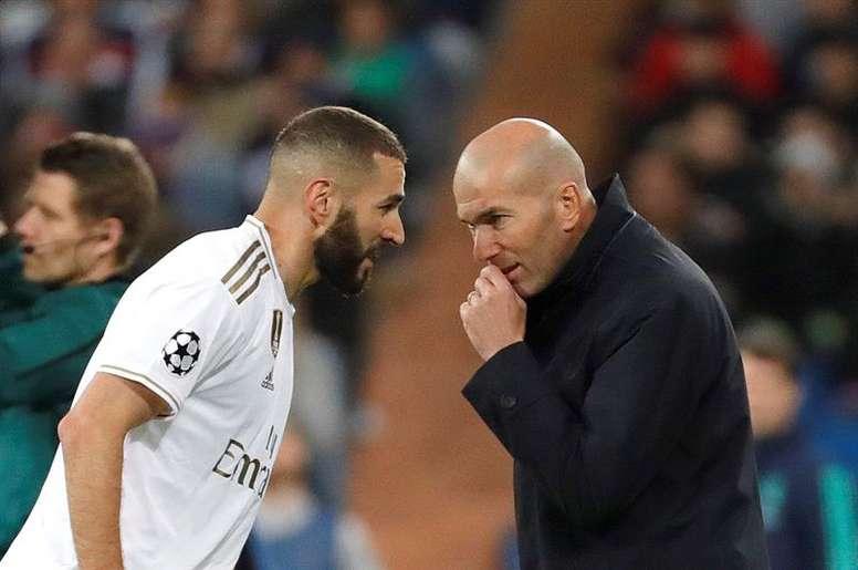 Los últimos partidos han reforzado a Zidane. EFE