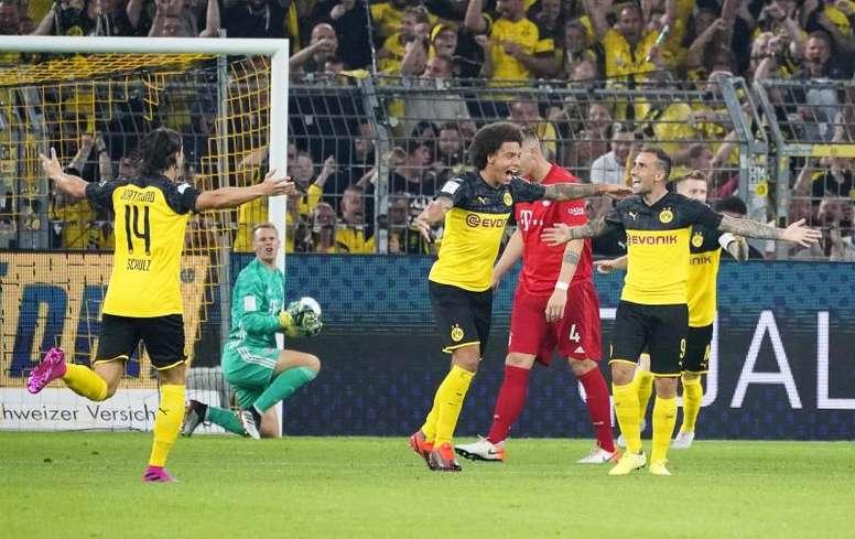 Les compos probables du match de Bundesliga entre le Bayern Munich et le Borussia Dortmund. EFE