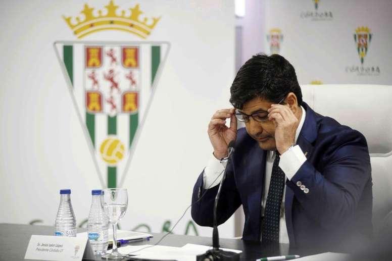 El Córdoba, en una grave situación. EFE