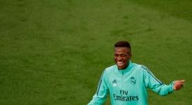 Vinicius puede volver a maravillar a los fans. EFE