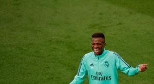 Vinicius' affinity for the Copa del Rey. EFE