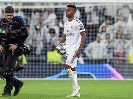 As lendas do Real que Rodrygo superou com seu 'hat-trick'. EFE/Rodrigo Jiménez