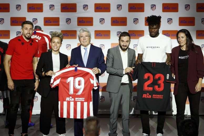 'Ria Money Transfer' se suma a la familia del Atlético. EFE