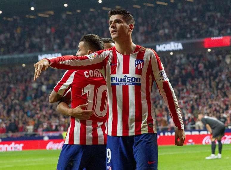 L'Atlético est l'équipe qui marque le moins parmi les 20 meilleurs clubs d'Europe. EFE/Rodrigo Jimén