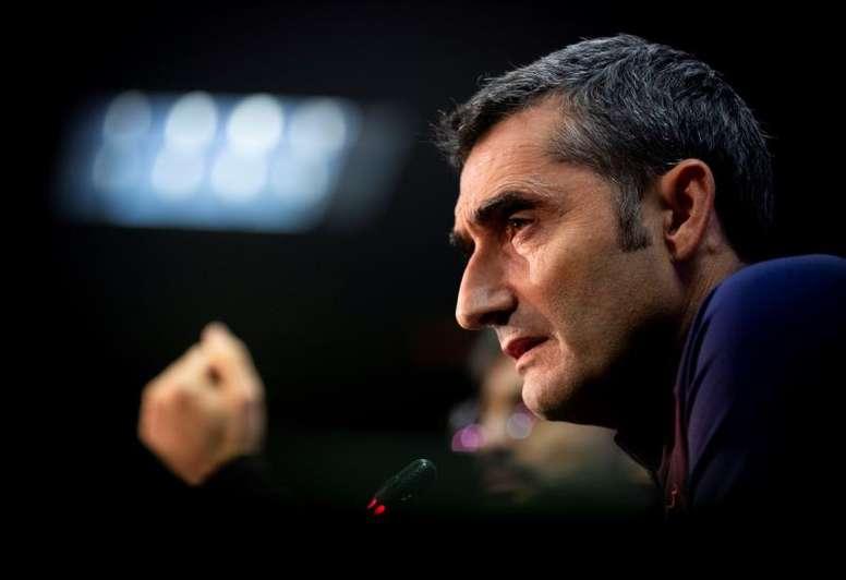 Valverde se siente apoyado por el club. EFE