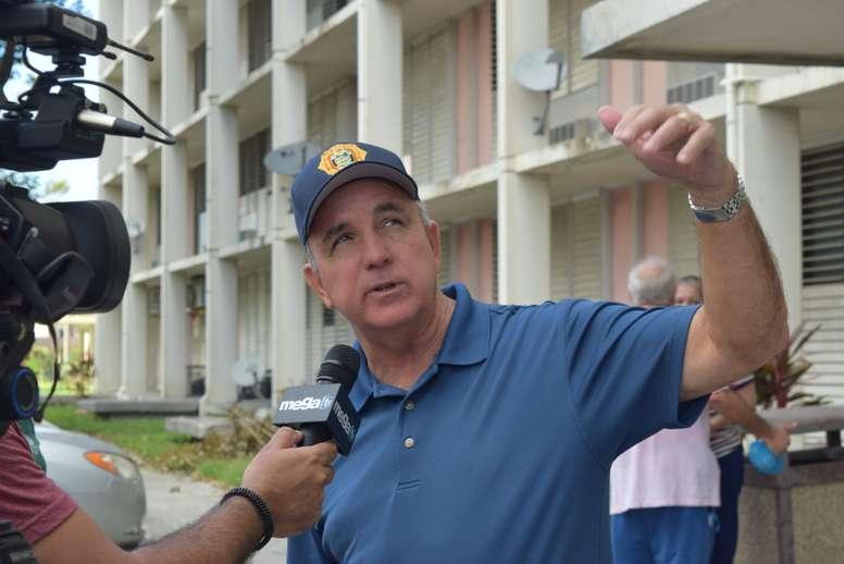 El alcalde del condado Miami Dade, Carlos Giménez. EFE/Jorge I. Pérez/Archivo