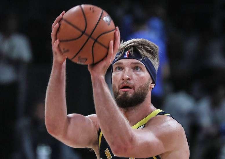 Indiana Pacers player Domantas Sabonis. EFE/EPA/DIVYAKANT SOLANKI/Archivo