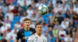 Lucas Vázquez se vê na MLS. EFE/JuanJo Martín