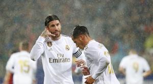 Sergio Ramos s'est confié dans une émission. EFE