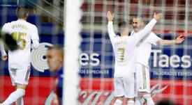 Zidane recupera a su mejor delantera. EFE