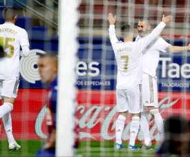 Le triangle magique qui plaît à Zidane. EFE