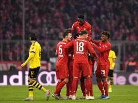 Bayern goleia Borussia. EFE/EPA/LUKAS BARTH-TUTTAS