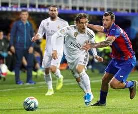 As três equipes mais afetadas por jogar sem público. EFE/Juan Herrero