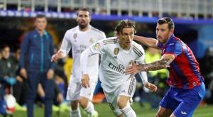 La MLS rêve de Modric. EFE/Juan Herrero