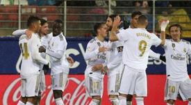 El Real Madrid ha entrado en una buena dinámica goleadora. EFE/Archivo