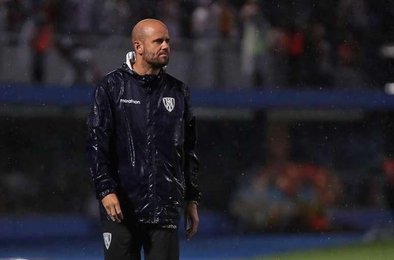 Miguel Ángel Ramírez, un entrenador para la historia. EFE/Raúl Martínez