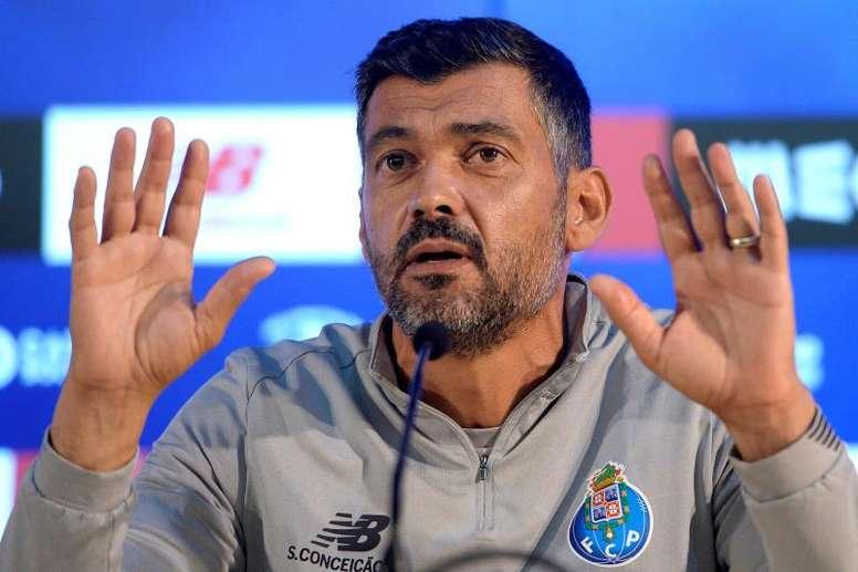 Sérgio Conceição comentou atuação em vitória na Champions. EFE/EPA/FERNANDO VELUDO/Arquivo