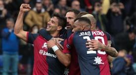 El momento de forma del Cagliari es espectacular. EFE