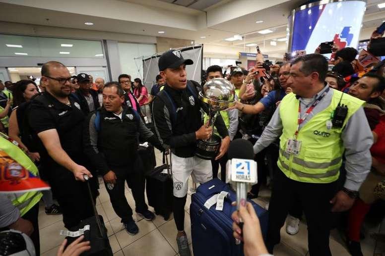Independiente llegó a Ecuador. EFE