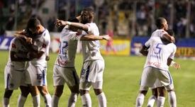 Olimpia Honduras y Marathón estrenan su casillero. EFE