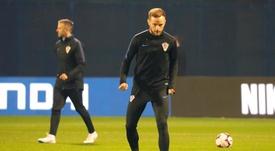 En Croacia confirman que Rakitic no jugará por una lesión. EFE
