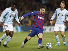 Messi, el guardián de un Camp Nou inexpugnable. EFE
