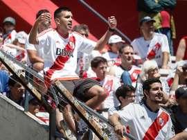 River esgota ingressos para a final. EFE/Juan Ignacio Roncoroni