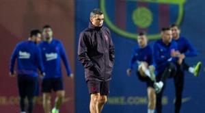 El Barça de Valverde tiene un amistoso en el parón. EFE