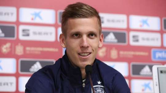 Barcelona denied offers for Dani Olmo. EFE