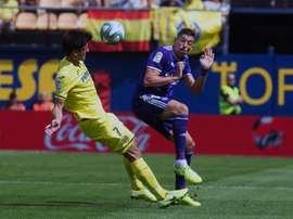 Rubén Alcaraz ha vuelto tras una larga lesión. EFE