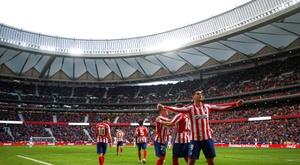 Morata doit retrouver le chemin des filets avec l'Atlético. EFE/ Emilio Naranjo