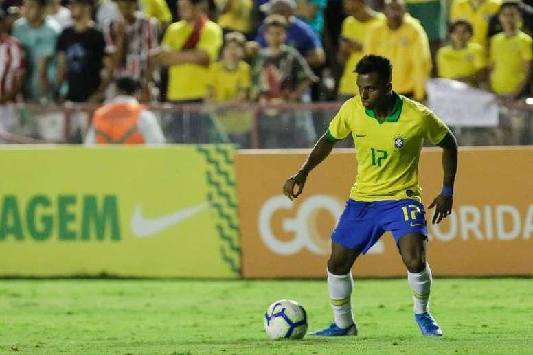 Rodrygo has been called-up ahead of Vinicius. EFE